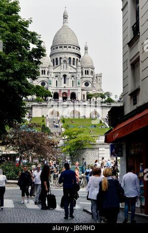 Paris 18th, France - Stock Photo