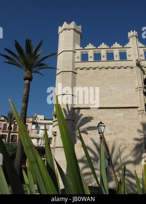 Gotische Handelsbörse in Palma - Stock Photo