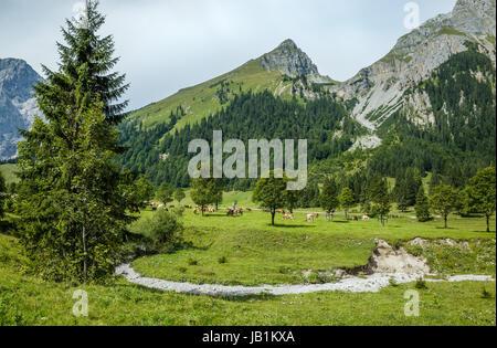 Mountains in Alpenpark Karwendel - Stock Photo