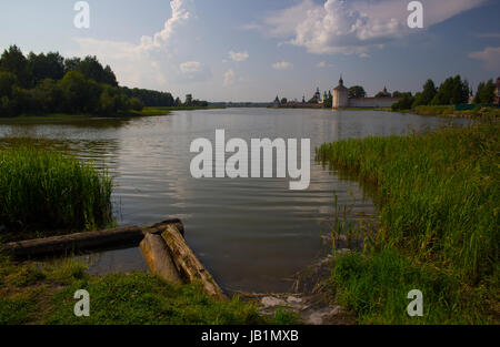 Kirillo-Belozersky monastery - Stock Photo