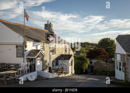 The Pigs Nose Inn at East Prawle, South Devon, UK. - Stock Photo