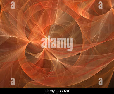 Beautiful fractal background - Stock Photo