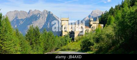 Seefeld Burg - Seefeld castle 03 - Stock Photo