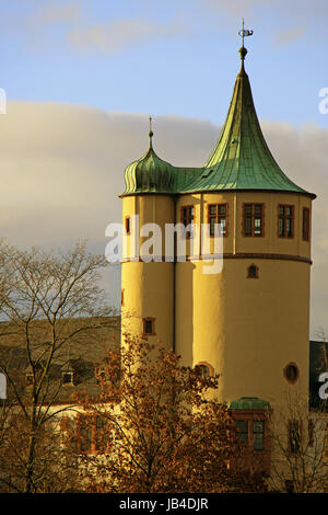 tower historical museum of the palatinate in speyer - Stock Photo