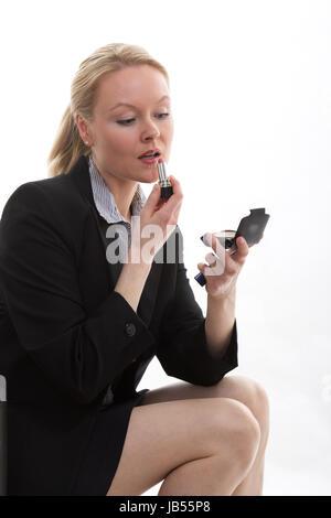 Attractive danish caucasian businesswoman - Stock Photo