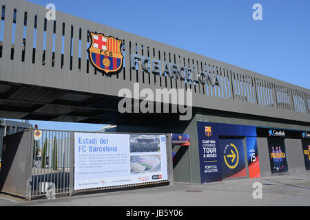 Estadi del FC Barcelona Spain - Stock Photo