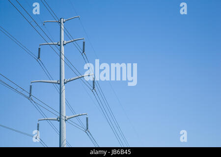 Electrical Towers and Pylons - Stock Photo
