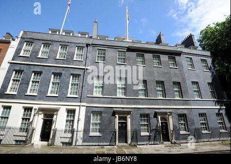 Downing Street, 10 Downing Street, 11 Downing Street, London, UK - Stock Photo