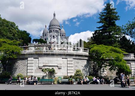 Montmartre, Paris 18th, France - Stock Photo