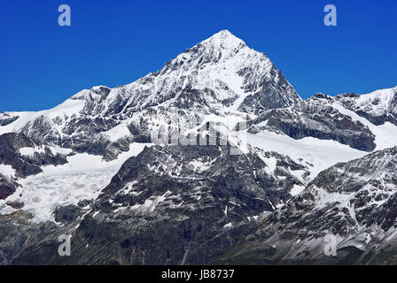 switzerland - valais-weisshorn 4506m - Stock Photo