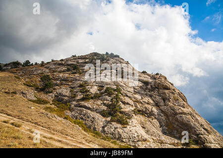 mountains and clouds - Stock Photo