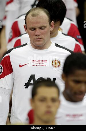 A TEARFUL WAYNE ROONEY, FC BARCELONA V MANCHESTER UTD, UEFA CHAMPIONS LEAGUE FINAL 2011, 2011 - Stock Photo