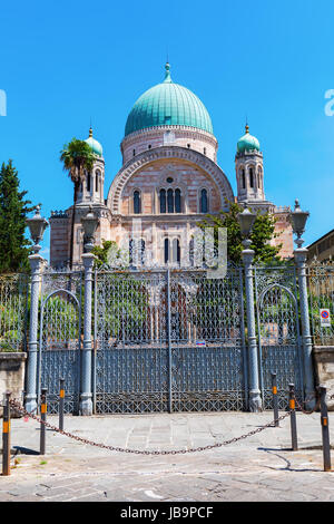 picture of the Great Synagogue in Florence, Italy - Stock Photo