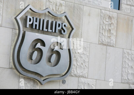 A Logo Sign Outside Of A The Headquarters Of The Phillips 66 Company