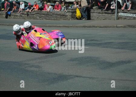 Isle Of Man, British Isles (UK). 9th June, 2017.  Fan Favorites, number 9 Steve Ramsden and Matty Ramsden (LCR / - Stock Photo
