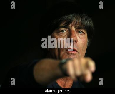 06.06.2017, Fussball Länderspiel, Dänemark - Deutschland, in Brondby Stadion Kopenhagen, Bundestrainer Joachim Löw - Stock Photo