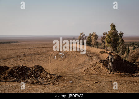 Chris Huby / Le Pictorium -  Syria / Rojava - Wrath of the Euphrates -  04/01/2017  -  Rojava  -  Syria ROJAVA / - Stock Photo