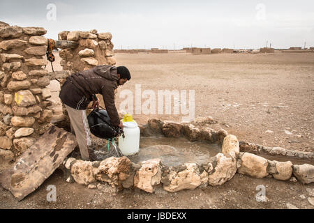 Chris Huby / Le Pictorium -  Syria / Rojava - Wrath of the Euphrates -  31/12/2016  -  Rojava  -  SYRIA - ROJAVA - Stock Photo