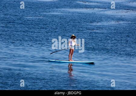 Travel Destination, Pacific Grove, Monterey County, California - Stock Photo