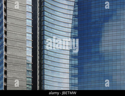 insurance skyline - Stock Photo