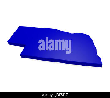 map of nebraska Stock Photo Royalty Free Image 143516387  Alamy