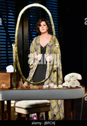 Marcia Gay Harden in the role of The Princess Kosmonopolis aka Alexandra del Lago, in a scene from Tennessee Williams' - Stock Photo