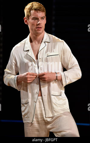 Brian J. Smith in the role of Chance Wayne in a scene from Tennessee Williams Sweet Bird Of Youth, Chichester Festival - Stock Photo