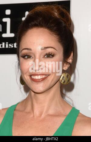 Los Angeles, CA, USA. 6th June, 2017. Autumn Reeser at arrivals for KILL 'EM ALL Premiere, Harmony Gold Theater, - Stock Photo