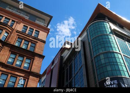Modern building between renfrew street renfrew lane and renfield uk modern building between renfrew street renfrew lane and renfield street glasgow scotland sciox Image collections