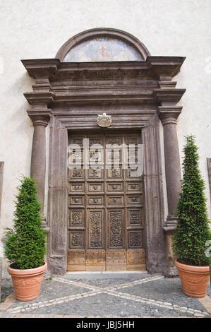 St. Maria della Consolazione Church. Caprarola. Lazio. Italy. - Stock Photo