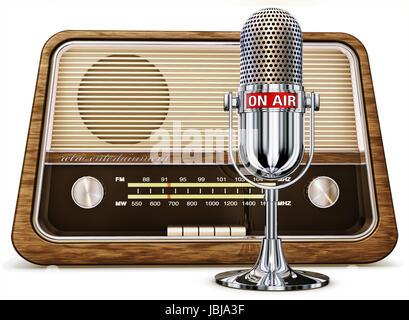 interview listen - Stock Photo