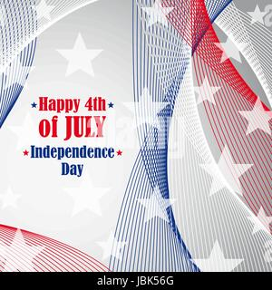 Independence day 4 th of july. - Stock Photo