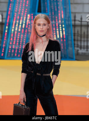 Mary Charteris, Royal Academy of Arts Summer Exhibition Preview Party, Burlington House, London UK, 07 June 2017 - Stock Photo