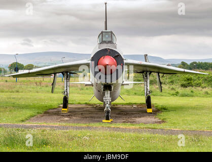 RAF English Electric Lightning ZF583 - Stock Photo