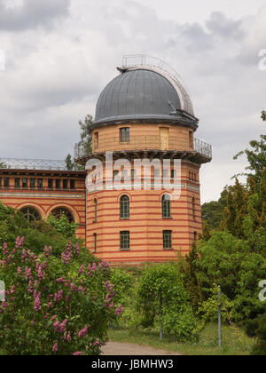 POTSDAM, GERMANY - MAY 10, 2014: Michelson Haus at Leibniz Institute for Astrophysics - Stock Photo