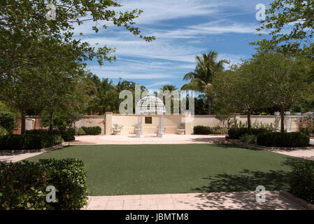 ... The Wedding Garden At Florida Botanical Gardens In Largo Florida USA.  April 2017   Stock