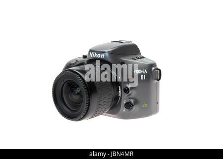 Nikon PRONEA 6i (600i) with IX-Nikkor lens APS film SLR camera released 1996 - Stock Photo