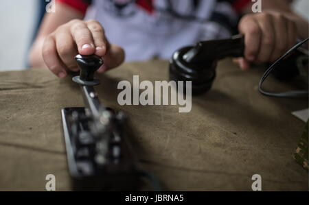 Moscow, Russia. 12th June, 2017. The Times and Epochs historical reenactment festival. Credit: Sergei Bobylev/TASS/Alamy - Stock Photo