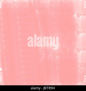 hand painted texture of pink water color on paper - Stock Photo