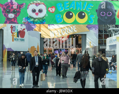 American International Toy Fair, Jacob K. Javits Convention Center, Manhattan, New York City, USA - Stock Photo