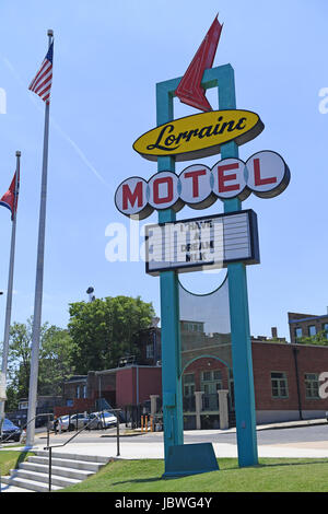 Memphis, TN, USA - June 9, 2017: The Lorraine Motel, site of the National Civil Rights Museum and the site of the Assassination of Dr. Martin Luther K