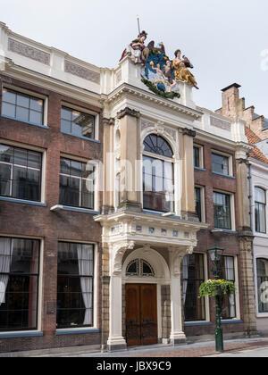 Rathaus in Alkmaar, Provinz Nordholland, Niederlande City Hall  in Alkmaar, Province North Holland, Netherlands - Stock Photo