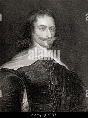 Archibald Campbell, 1st Marquess of Argyll, 8th Earl of Argyll, chief of Clan Campbell, 1607 –  1661.  Scottish - Stock Photo