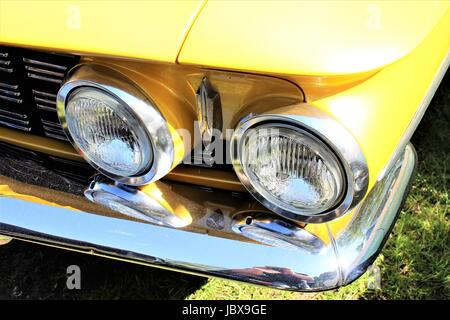 An image of a us classic car, vintage - Stock Photo