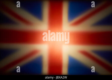 UnionJack Flag of Great Britain - Stock Photo