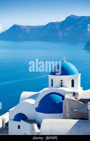Oia, Santorini - Stock Photo
