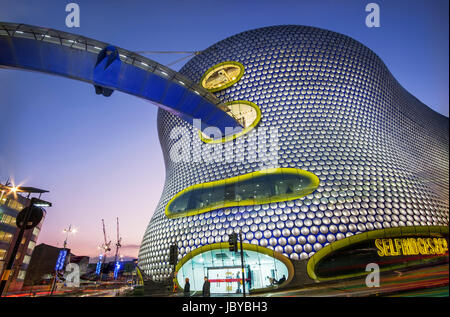 The Stunning and Quirky Selfridges & Co Building in Birmingham, UK - Stock Photo