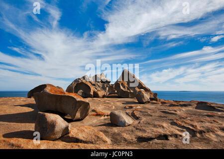 Famous Remarkable Rocks on Kangaroo Island. - Stock Photo
