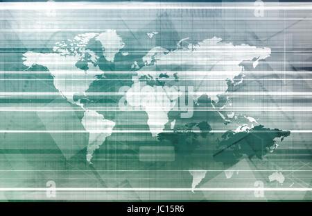 Global Logistics Management Processes As a Art - Stock Photo