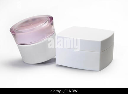 Two cosmetics packaging. - Stock Photo